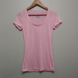 3/25$ VICTORIA'S SECRET pink shinny shirt
